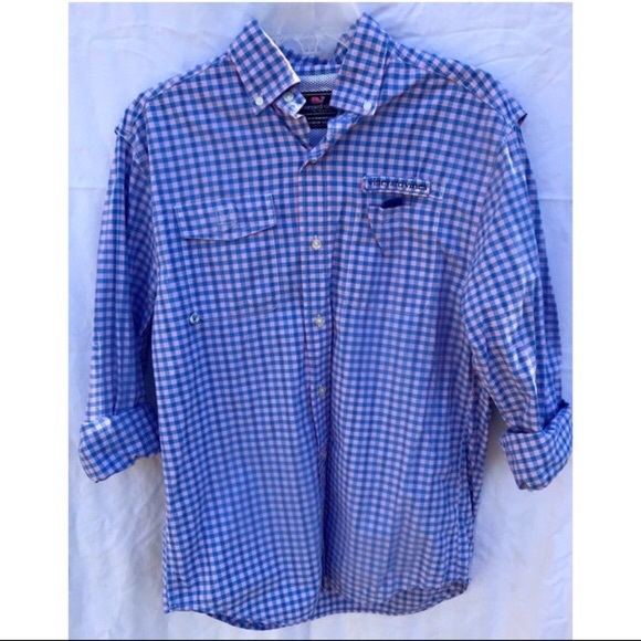 Vineyard Vines Other - Vineyard Vines Men's Harbor (fishing) Shirt
